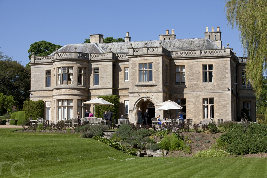 Wedding Venue Wadenhoe House, near Peterborough and Oundle