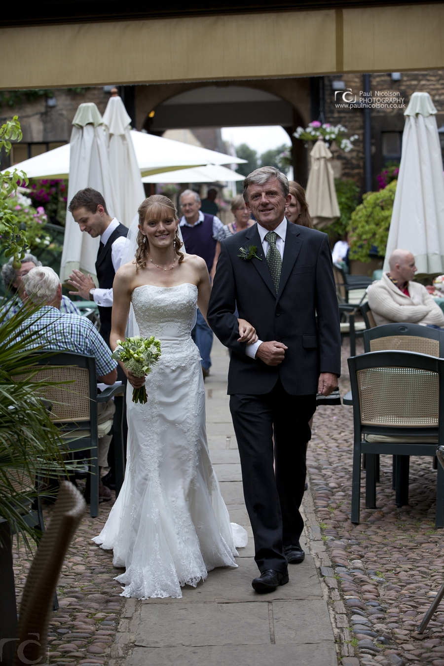 weddings at the george hotel stamford courtyard